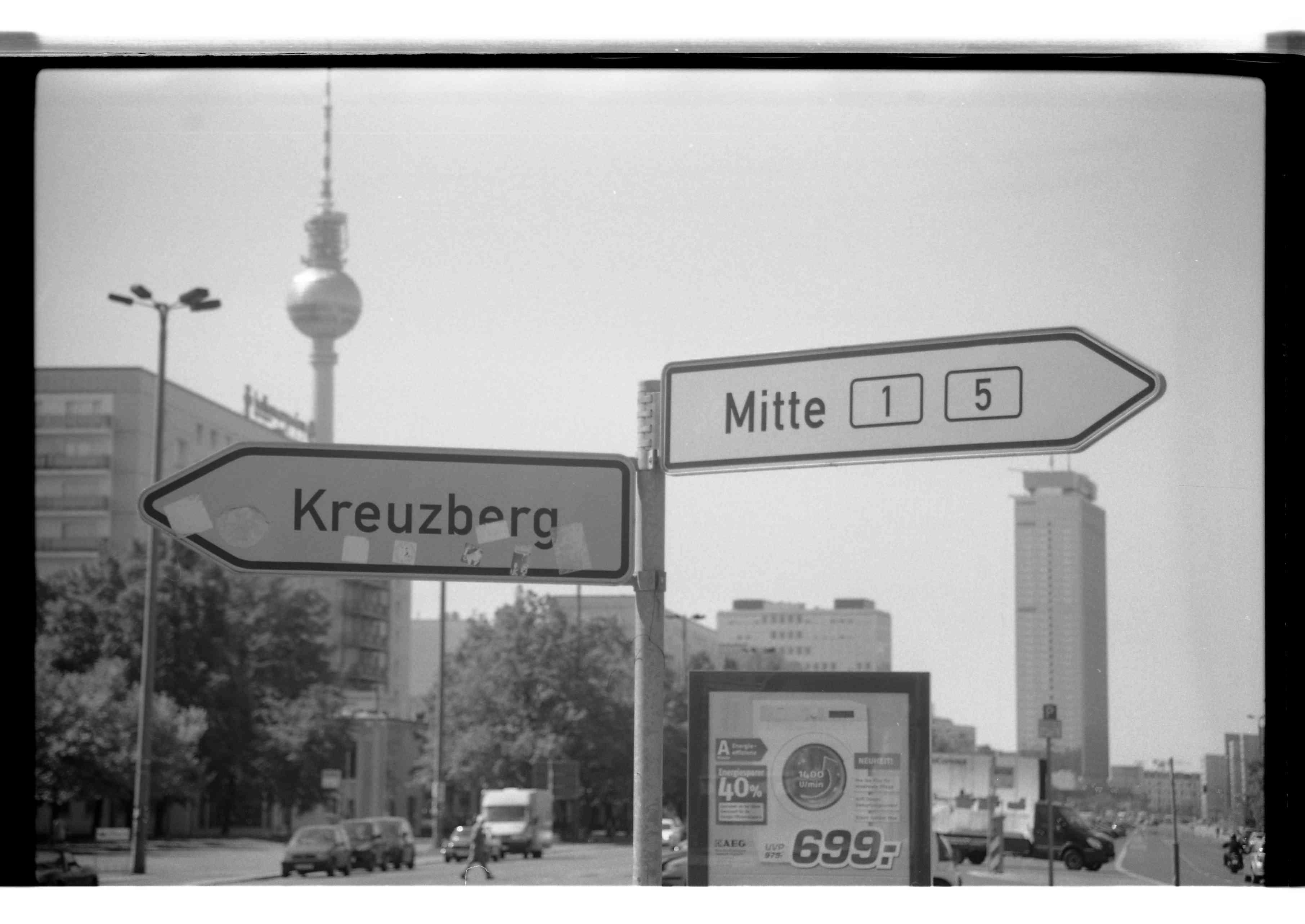 Choisir entre Kreuzberg ou Mitte