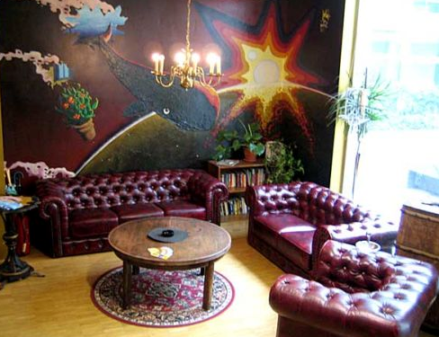 Heart of Gold Hostel Berlin - Salon