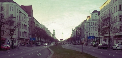 Acheter un appartement à Berlin -vue sur Karl Marx Allee