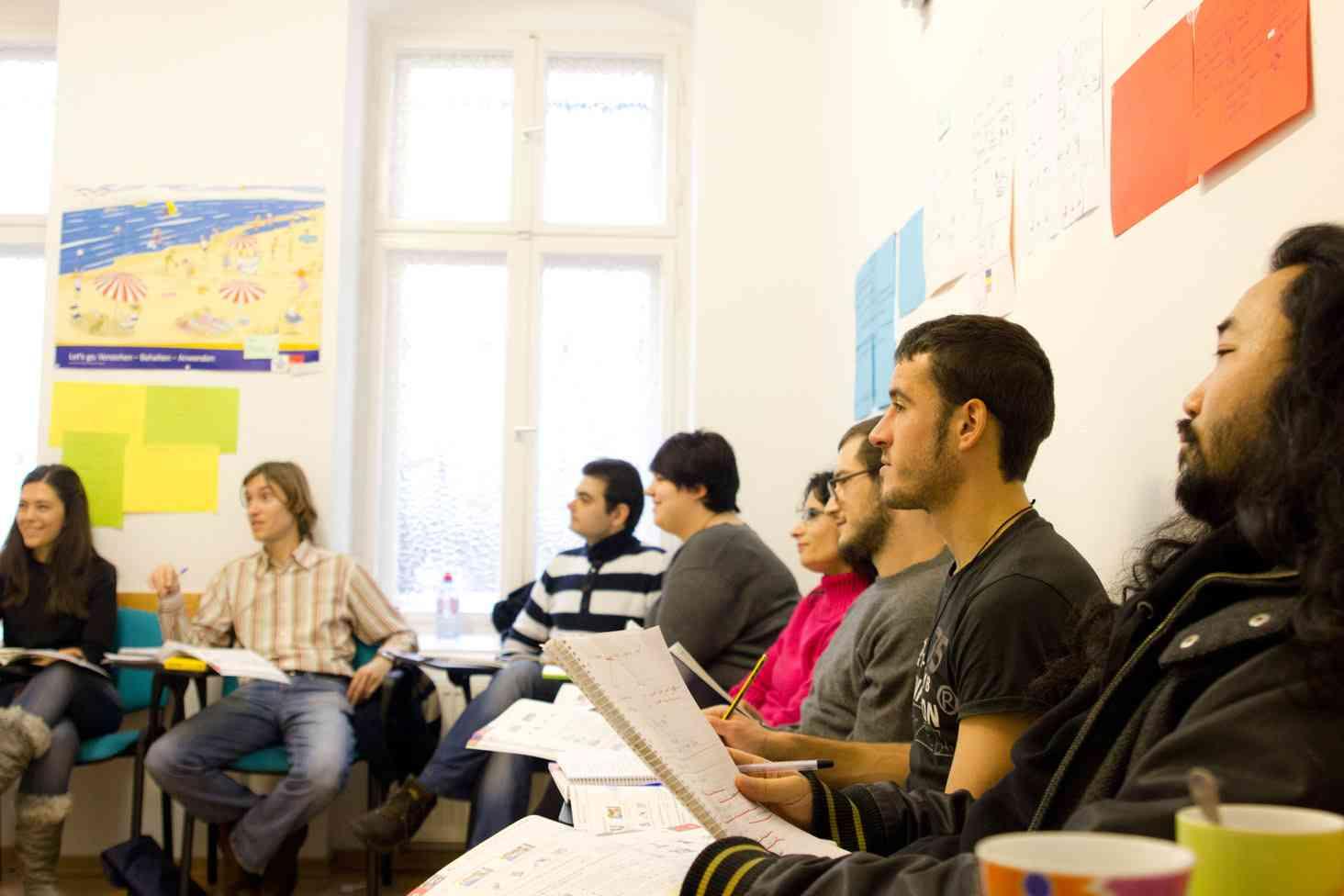 ab - étudiants école de langue Anda-Sprachschule Berlin Friedrichshain