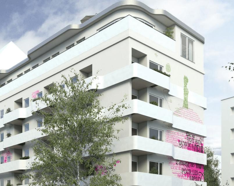 Vue b timent appartement - Achat immobilier berlin ...