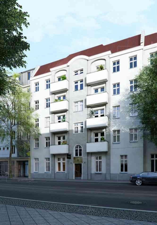 3 pi ces avec balcon au 2i me tage d 39 un immeuble en r novation neuk ll - Vente appartement berlin ...