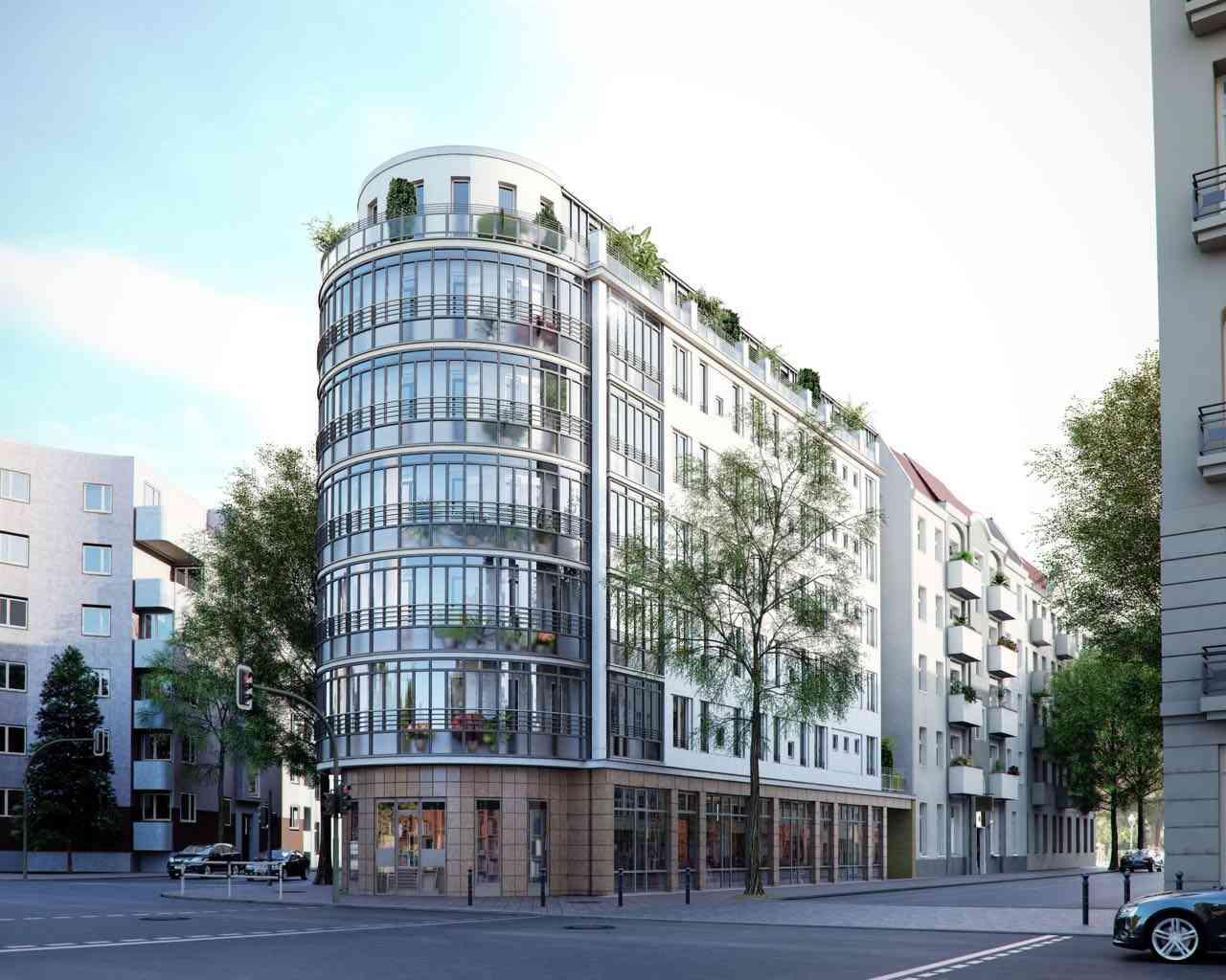 Appartement de 3 pi ces bien agenc avec balcon et ascenseur appartement b - Achat appartement berlin ...