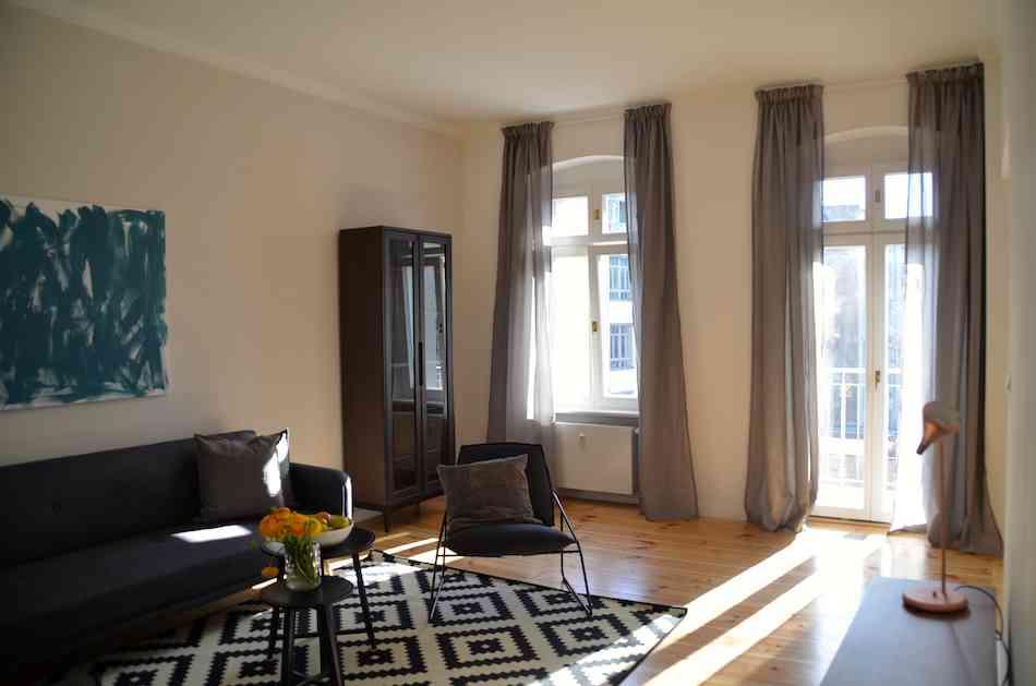 Beau 2 pi ces design enti rement meubl louer appartement - Appartement a louer berlin ...