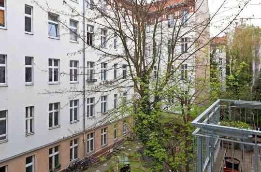 Vue du balcon appartement - Achat immobilier berlin ...