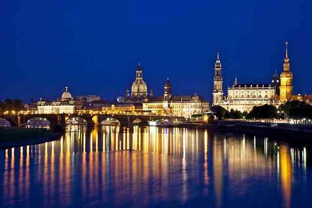 Dresden du pont Albertbrücke