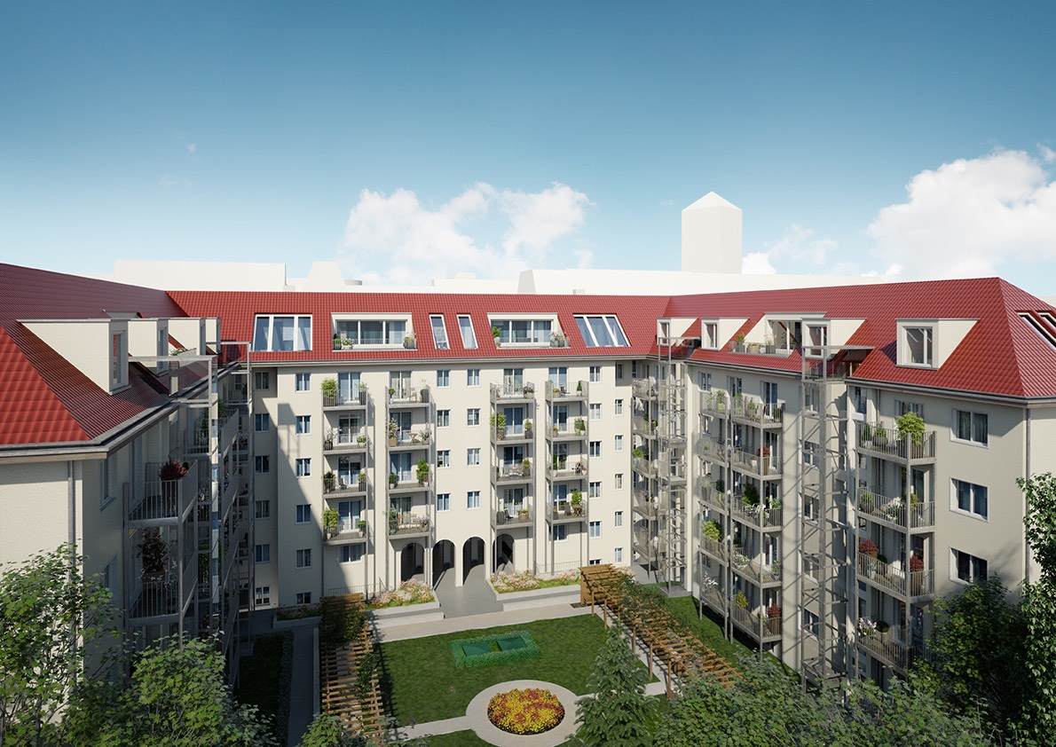Visualisation une fois modernisation termin e appartement - Achat immobilier berlin ...