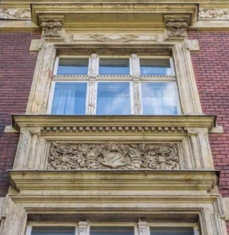 Détails de la façade de style Altbau