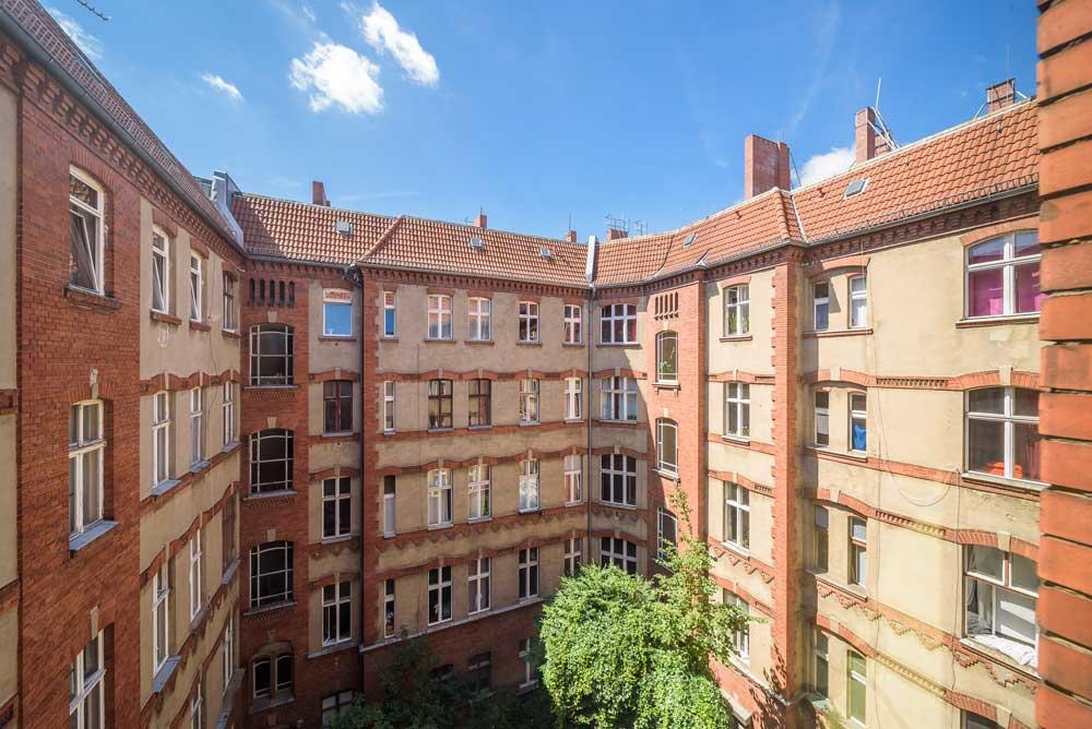 Prenzlauer allee court interieur appartement for Appartement court