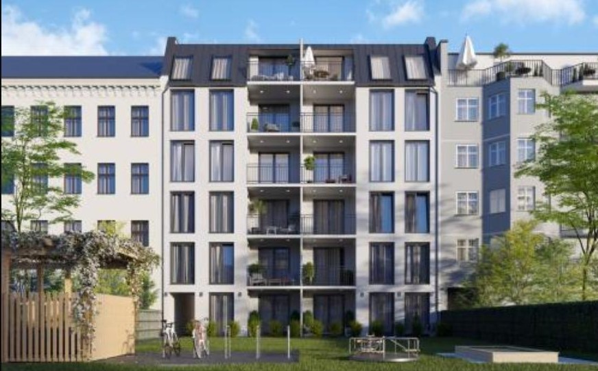 Grand appartement 4 pi ces avec balcon sud neuk lln for Construction neuve appartement