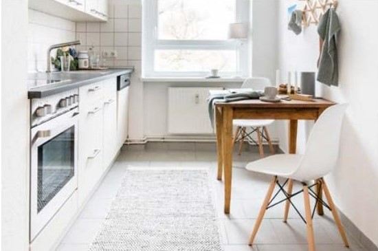 appartement témoin, cuisine