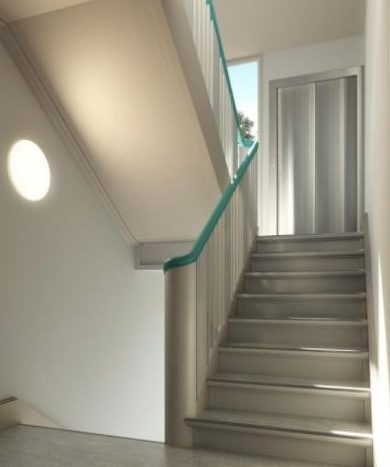 appartement témoin escalier
