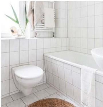 appartement témoin, salle d'eau
