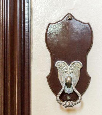 détails muraux de l'appartement