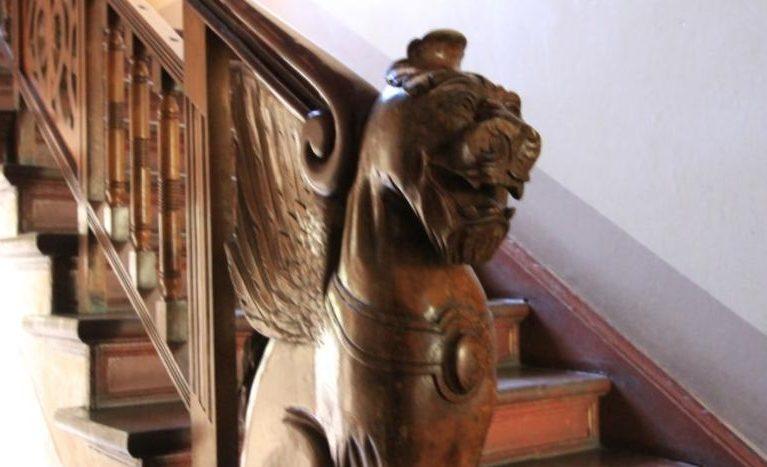 détail de la cage d'escalier
