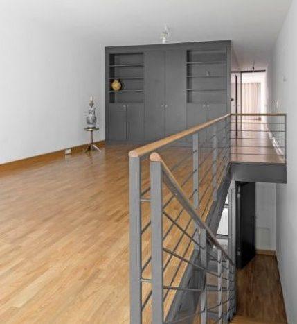 escalier avec espace de rangements sur mesure