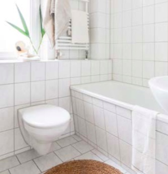 Appartement témoin - salle de bain