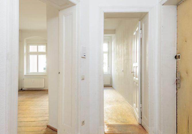 Appartement témoin - entrée
