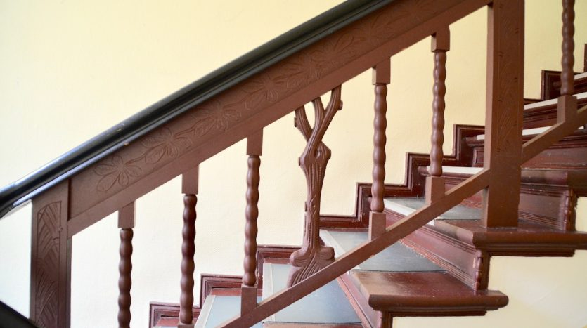 Détails escaliers