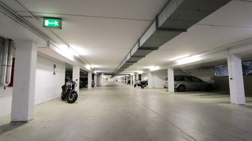 Garage en souterrain