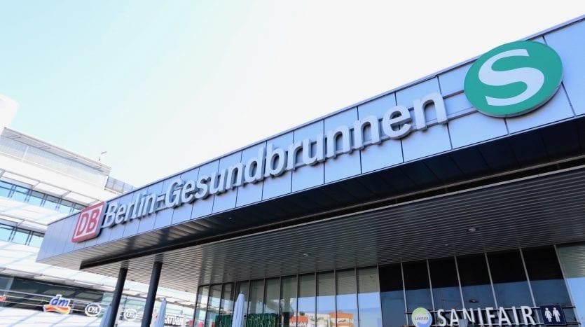 S-Bahn Gesundbrunnen