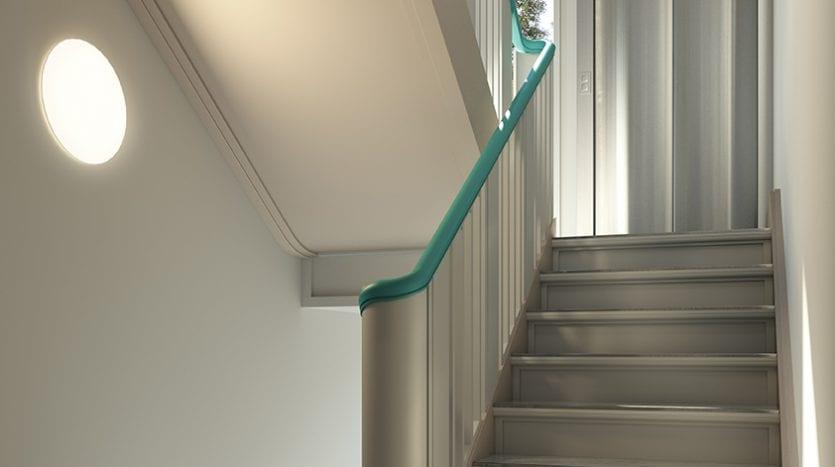 Escaliers après rénovations