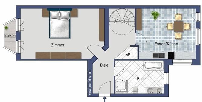 Plan - Niveau 5ième étage