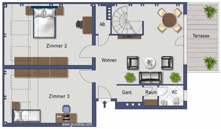 Plan - Niveau 6ième étage