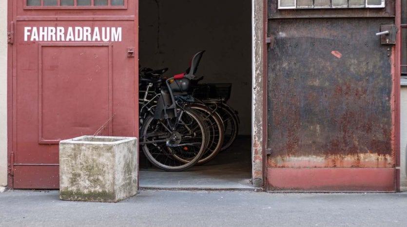 Places pour les vélos