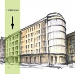 Terrain constructible – avec permis – près de Richardplatz