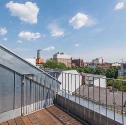 3 Pièces duplex en construction sous les combles avec terrasse