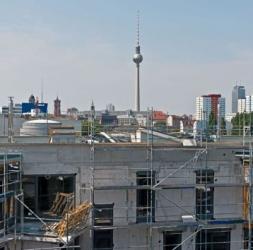 Penthouse neuf de 3 Pièces avec terrasse sur le toit à Kreuzberg